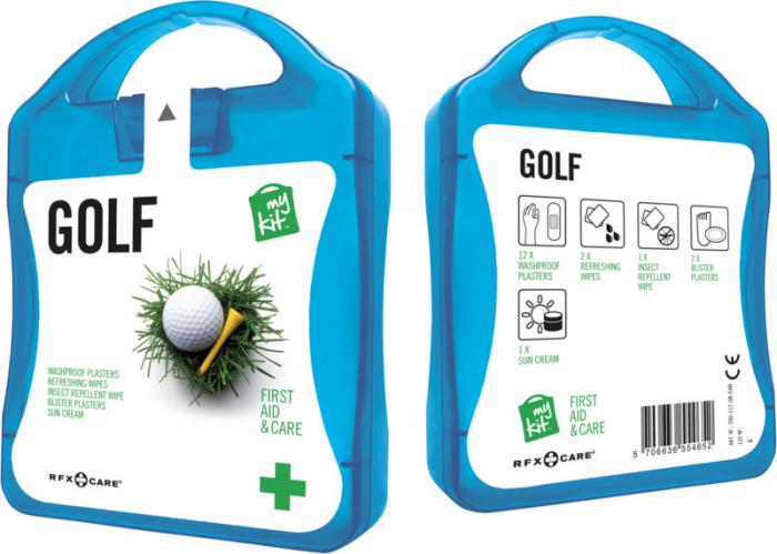 MyKit Golf set blauw
