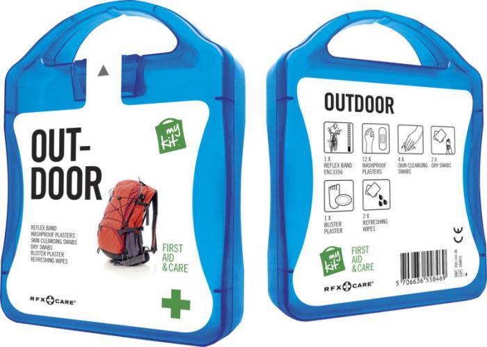 MyKit Outdoor set blauw