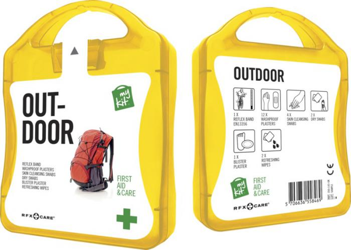 MyKit Outdoor set geel