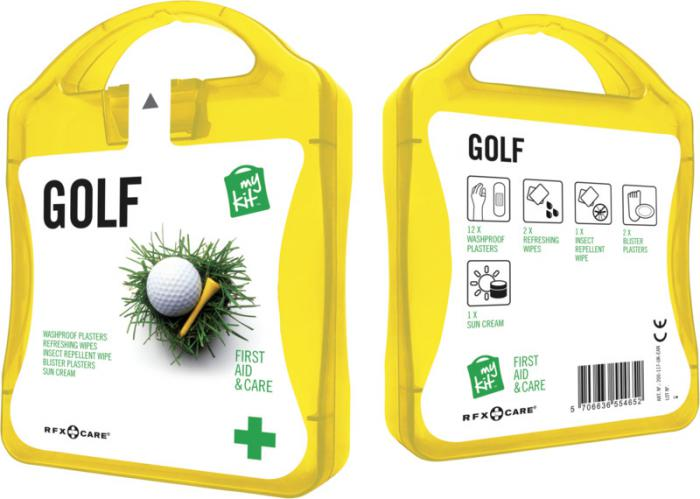 MyKit Golf set geel