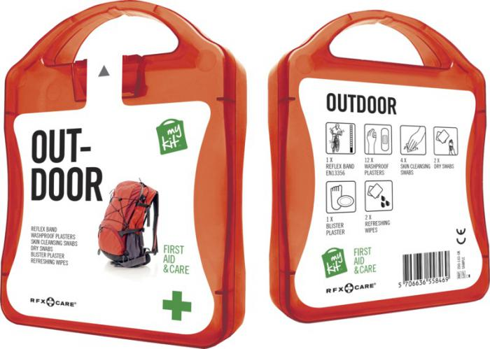 MyKit Outdoor set rood