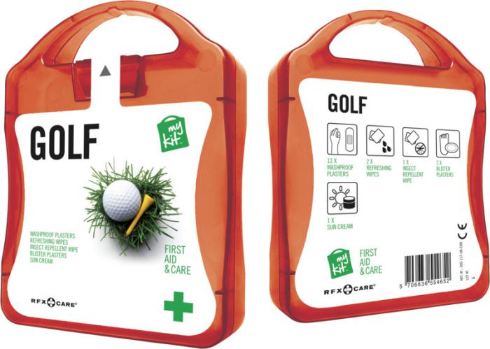MyKit Golf set rood