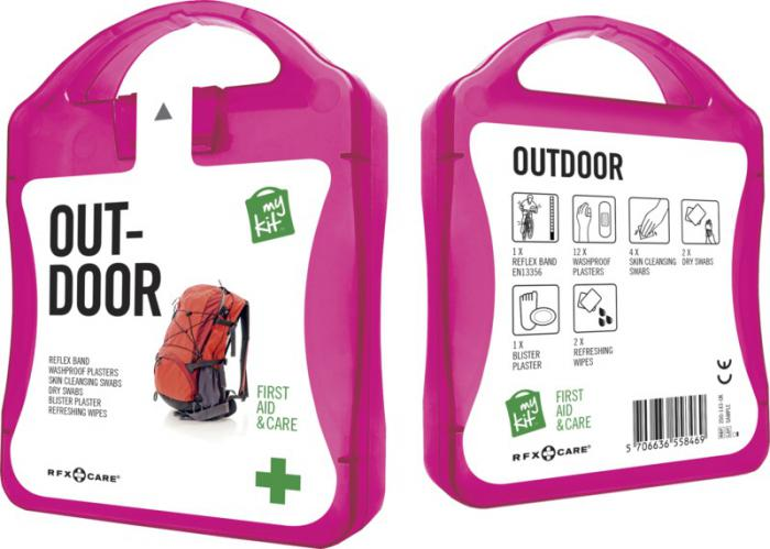 MyKit Outdoor set roze