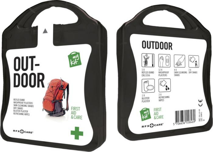 MyKit Outdoor set zwart